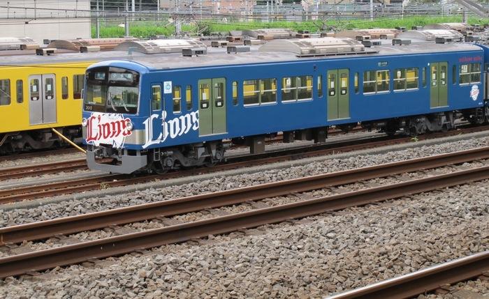 Lions列車.JPG